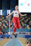 Junior Indoor Championships Istanbul balcánico 2017 imagen de archivo libre de regalías