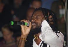 Junior kally singing Stock Image