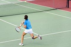 Junior Ladies Tennis Royalty Free Stock Photos