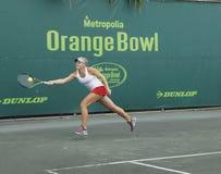 Junior Ladies Tennis Tournament Imágenes de archivo libres de regalías