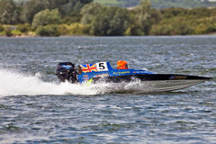 Junior powerboat racing Royalty Free Stock Photo