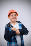 Junior Repairman Stock Image