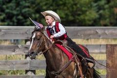 Junior Rider Fotografía de archivo