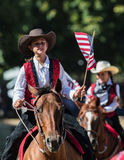 Junior Rodeo Drill Team Royalty Free Stock Image