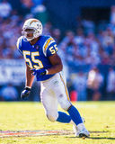 Junior Seau San Diego Chargers royalty free stock images