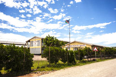 Junior secondary school Maltahöhe, Namibia Royalty Free Stock Photo