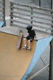 Junior Skateboarder Royalty Free Stock Image