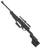 Junior Sniper Rifle Stock Images