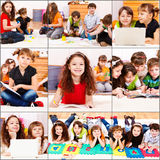 Junior students actiities Stock Photo