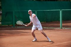 Junior tennis competitions Royalty Free Stock Photo