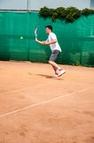 Junior tennis competitions Royalty Free Stock Photography