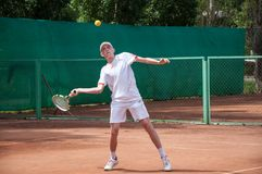 Junior tennis competitions Stock Photos