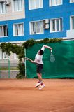 Junior tennis competitions Stock Photography