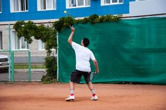 Junior tennis competitions Stock Images