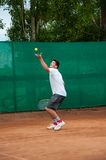 Junior tennis competitions, Royalty Free Stock Image