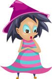 Junior witch vector Stock Images