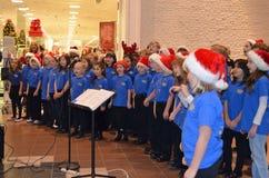 Juniorakademie-Sängerfeiertagskonzert Stockfotos