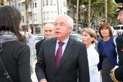 Juniorminister Alain Marleix Stockfotografie