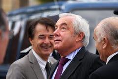 Juniorminister Alain Marleix Lizenzfreies Stockbild