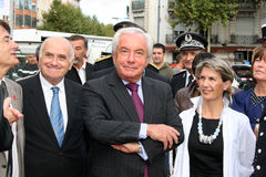 Juniorminister Alain Marleix Stockbild