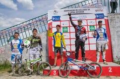 Juniors Elite podium Stock Images