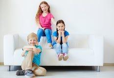 Juniors insouciants Images stock
