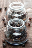 Juniper berries in a glass Royalty Free Stock Photography