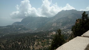 Juniper forest. Sanober trees mountains in background Pakistans largest royalty free stock photos