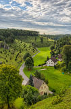 Juniper Slopes in Kleinziegenfeld Valley in Germany Stock Images