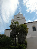Junipero Serra - San Diego. The historic Junipero Serra Mission in San Diego, California is a well known landmark and museum Royalty Free Stock Image
