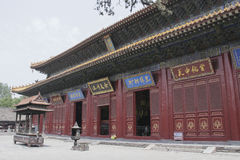 Junji Hall виска Zhongyue в городе Dengfeng, Центральном Китае Стоковое фото RF