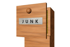 Junk in the drawer Stock Image