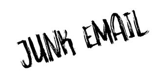 Junk Email rubber stamp Royalty Free Stock Photo