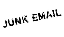Junk Email rubber stamp Stock Photography