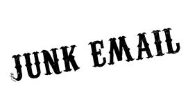Junk Email rubber stamp Royalty Free Stock Image