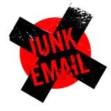 Junk Email rubber stamp Royalty Free Stock Images