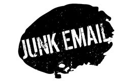 Junk Email rubber stamp Stock Image