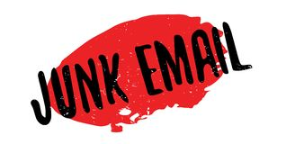 Junk Email rubber stamp Stock Images