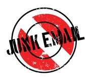 Junk Email rubber stamp Royalty Free Stock Photos