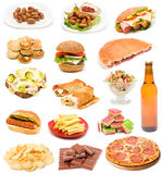 Junk food stock images