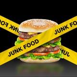 Junk Food fotografía de archivo