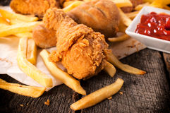 Junk food Royalty Free Stock Photo