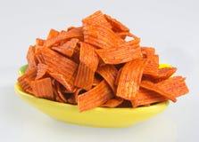 Junk Food en fondo Imagenes de archivo