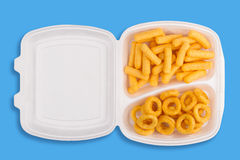 Junk food meal Royalty Free Stock Images