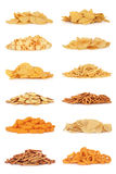 Junk Food Snack Collection stock image