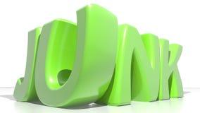Junk green Royalty Free Stock Image