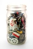 The junk jar Royalty Free Stock Photo
