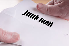 Junk mail or direct mailing Stock Image