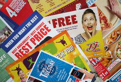 Free Junk Mail Direct Marketing Stock Photography - 90368482