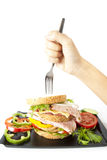 Junk meal Stock Images